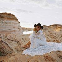Marcella wedding gown by Wilderly Bride