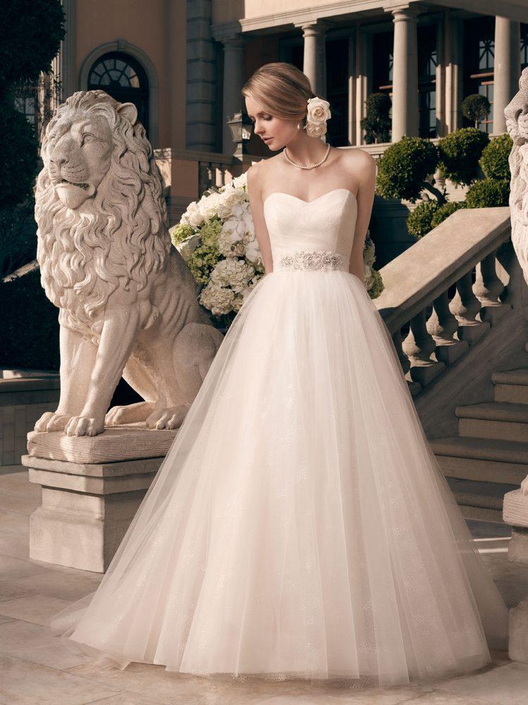 Casablanca 2177 wedding gown