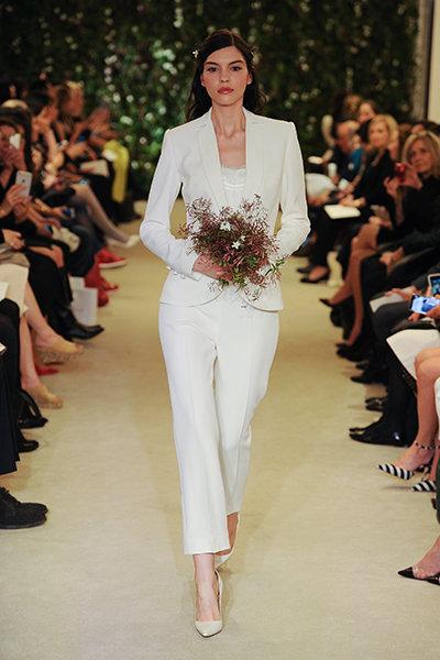 Carolina Herrera - Bridal Pantsuit