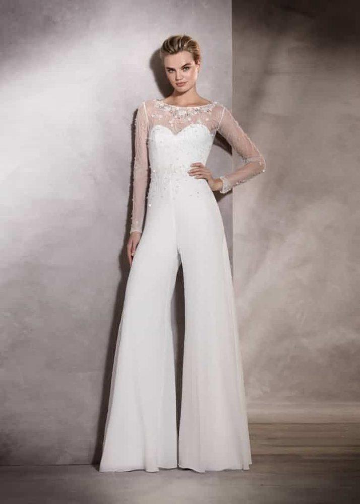 Pronovias bridal pantsuit - Alma