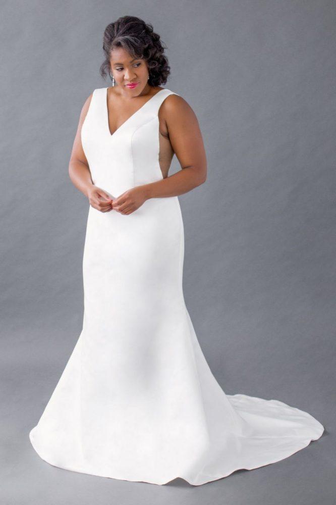 Leigh & Siena mermaid wedding dress