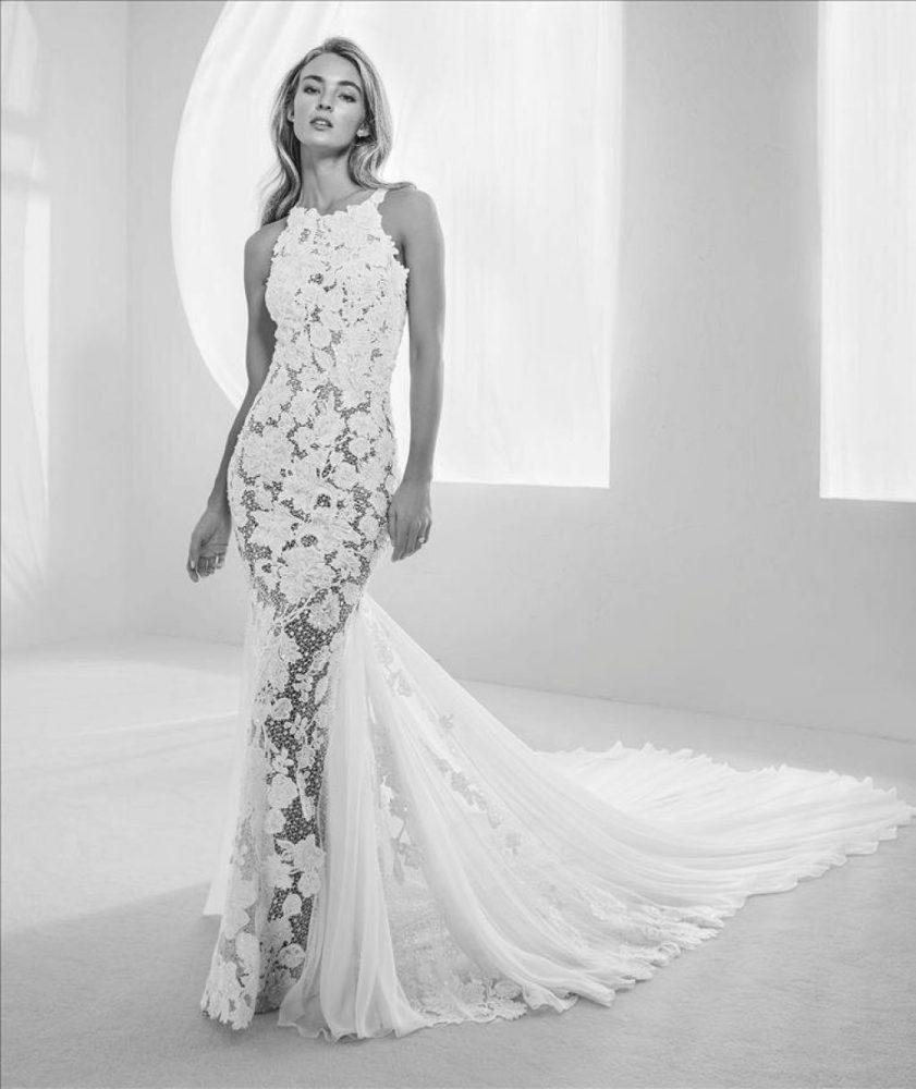 Pronovias Raisel wedding dress