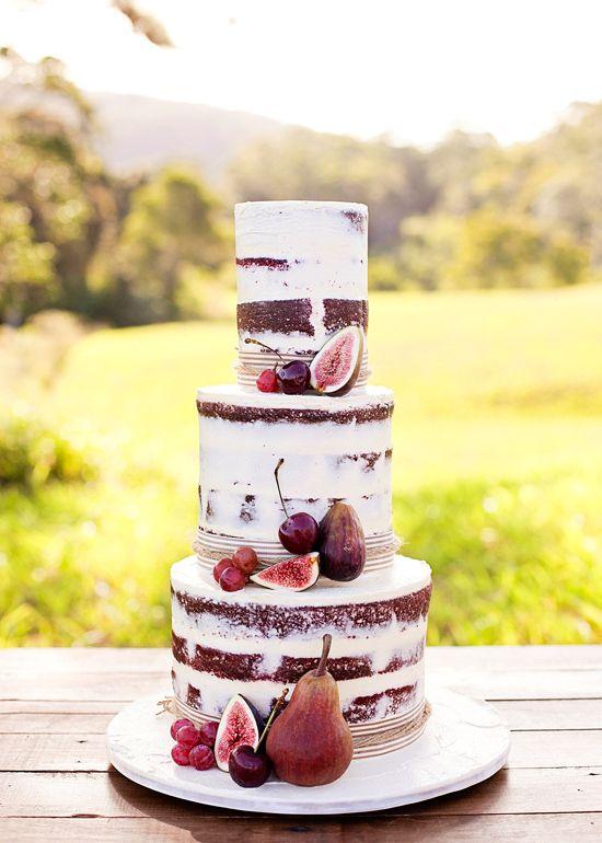 Autumn-Inspired Wedding Cakes