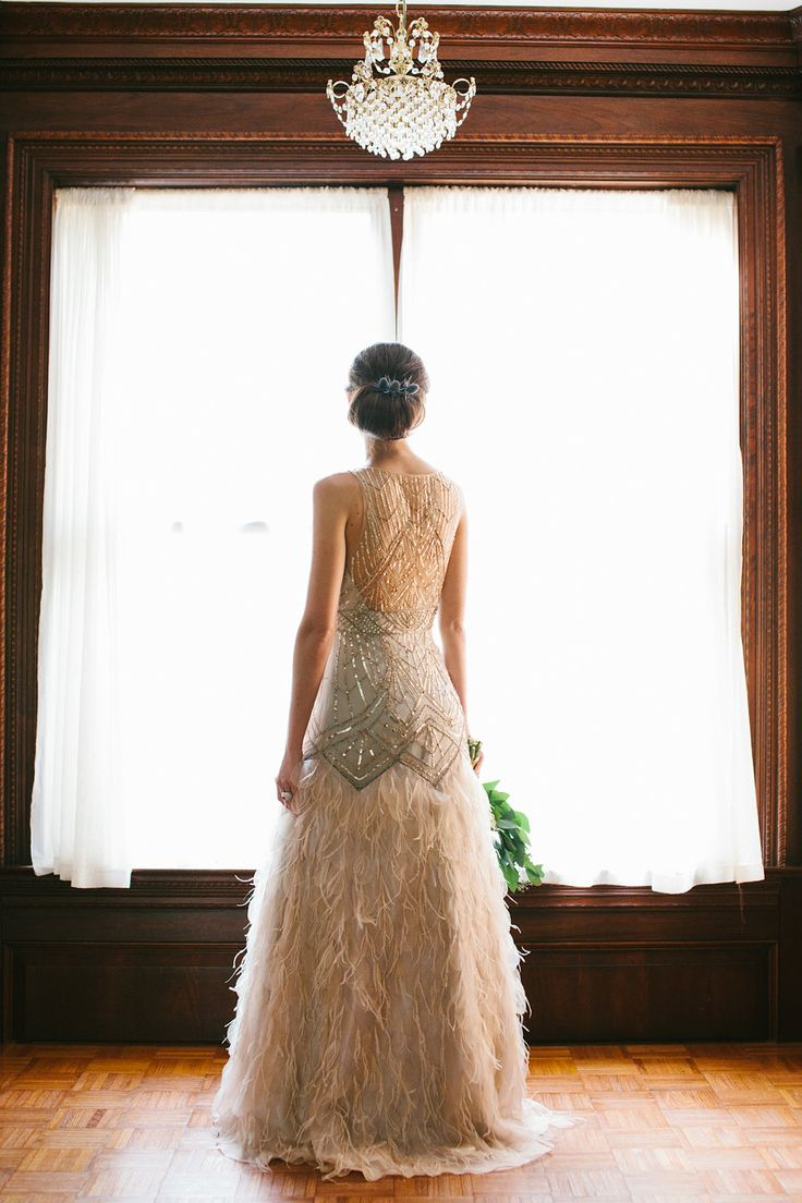 10 Wedding Gowns Full Of Fun Amp Feathers