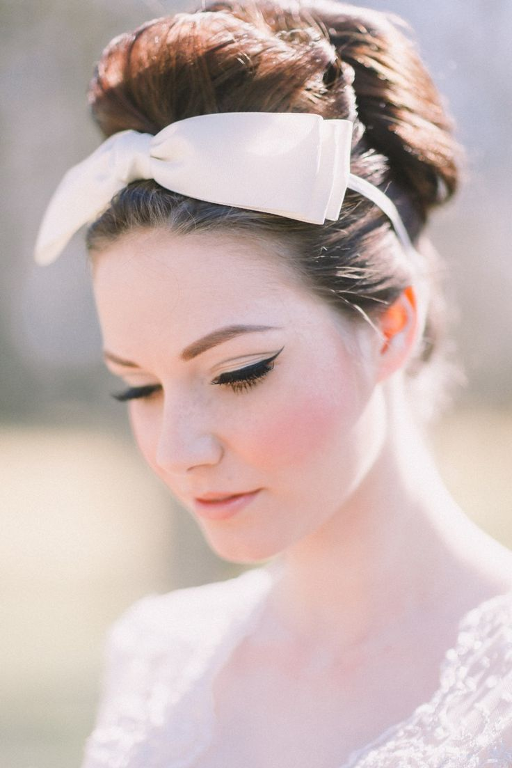 A Bit of Retro Beauty Inspiration For Second Time Brides