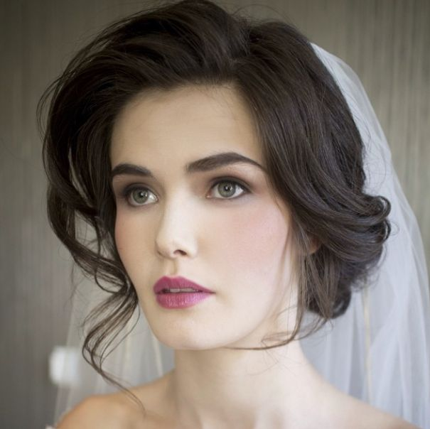 Classic Hairstyles For The Over Bride - Classic vintage hairstyle