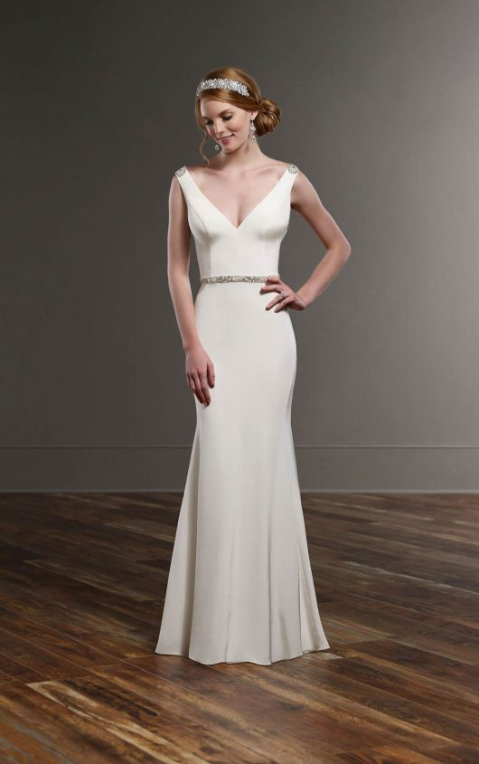 10 Martina Liana Wedding Gowns Fit For More Sophisticated Brides ...