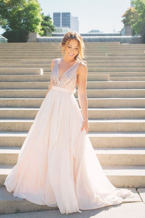 10 Rose Gold Gowns To Renew Your Vows In Wedding Attire