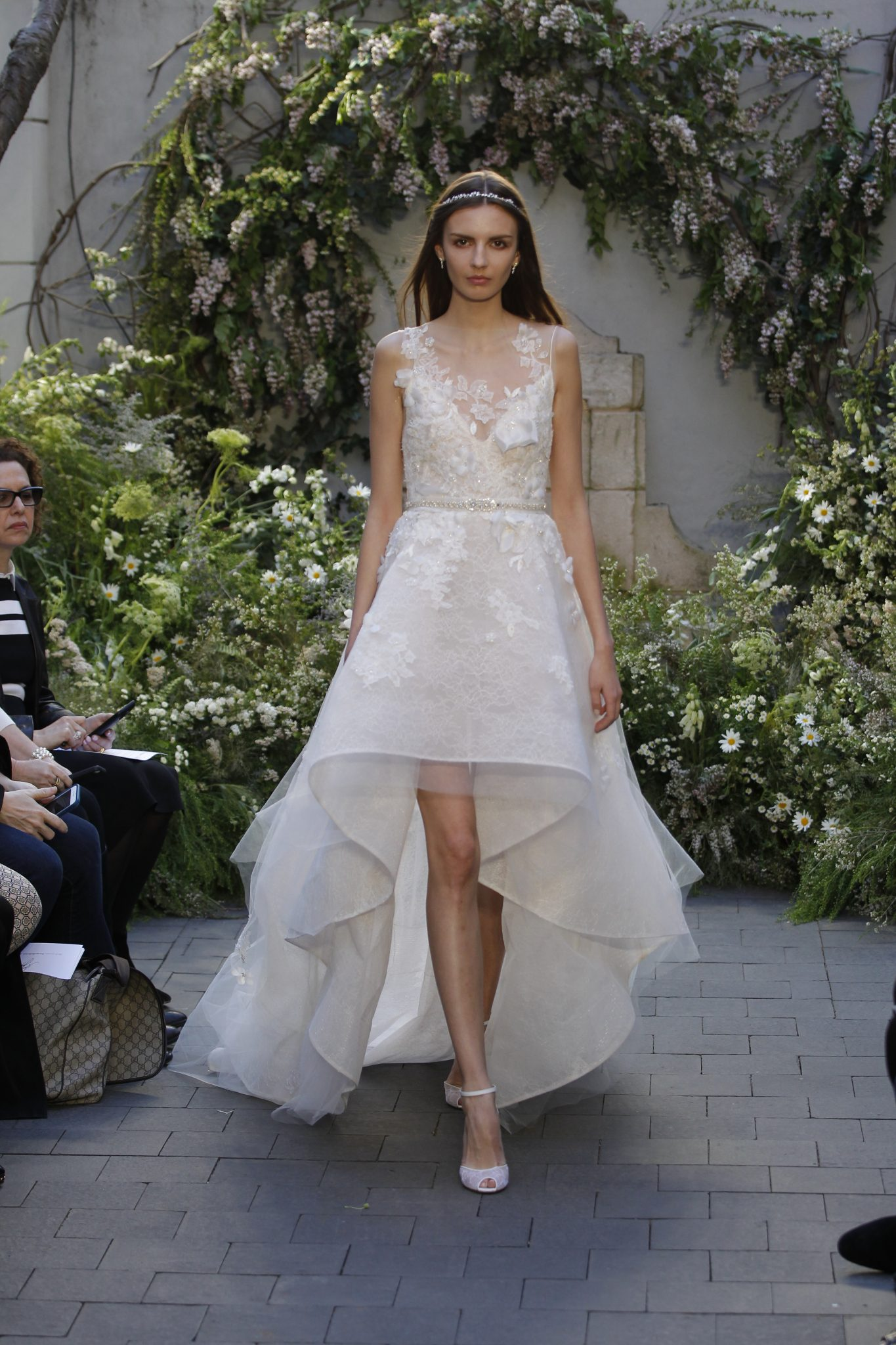 Monique lhuillier spring 2017 wedding gowns made for for Wedding dresses for second time brides