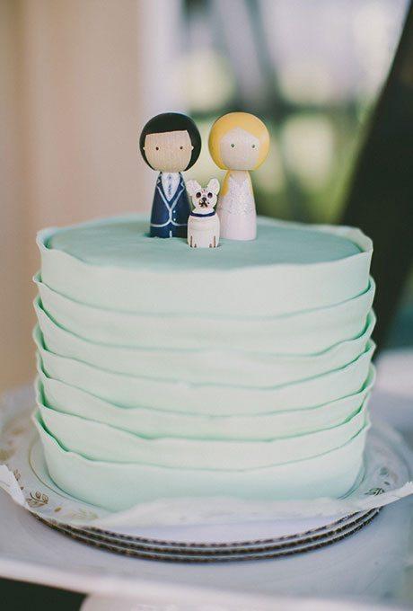 Vow Renewal Wedding Cakes