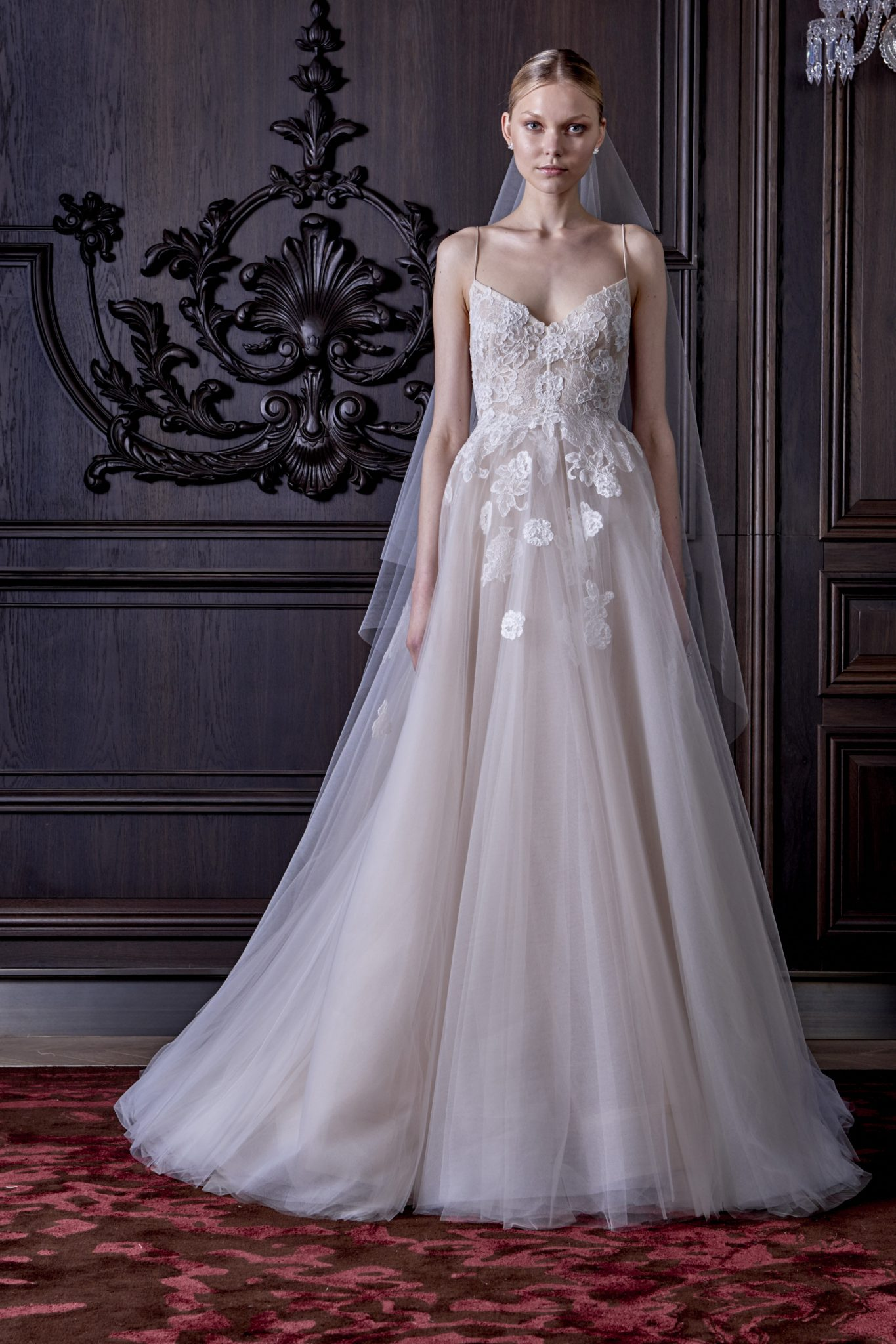 Monique Lhuillier Spring 2016 Wedding Gowns Made For Second Time Brides