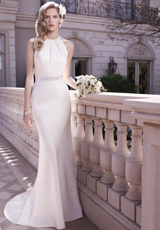 More Elegant With A Dash Of Sophistication This Gown Is Perfect For Older Brides Or Vow Renewals