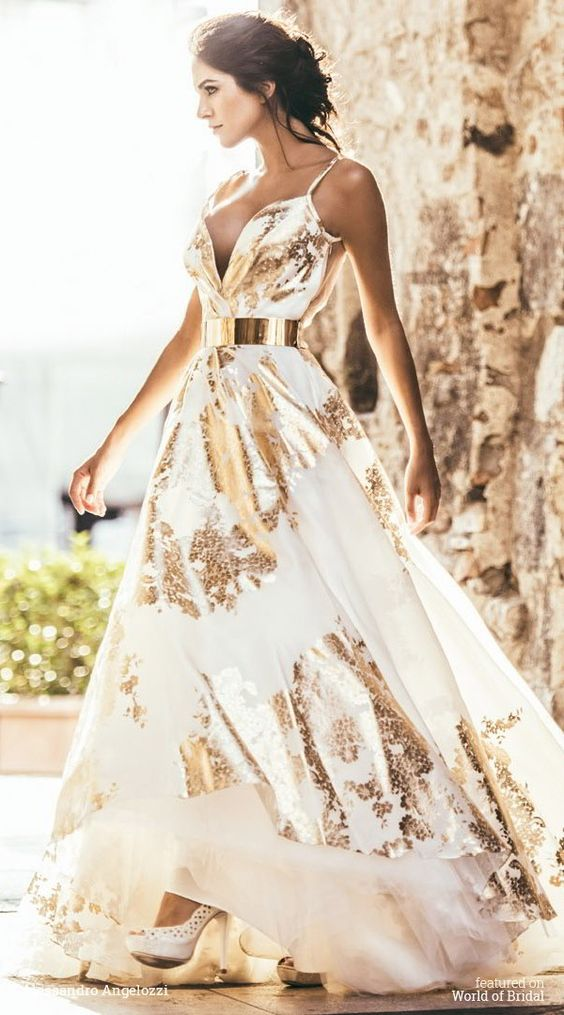 Multi-Colored Wedding Gowns with Tons of Personality: Part 3 ...