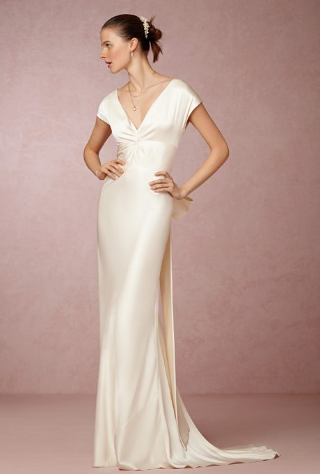 Silky Bridal Gowns For the Second Time Around: Part 2