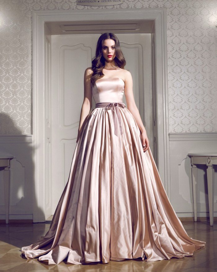 Here S Another Ball Gown That Filled With A Feminine Posh Spirit Will Fit Perfectly Down Your 10 Year Vow Renewal Aisle