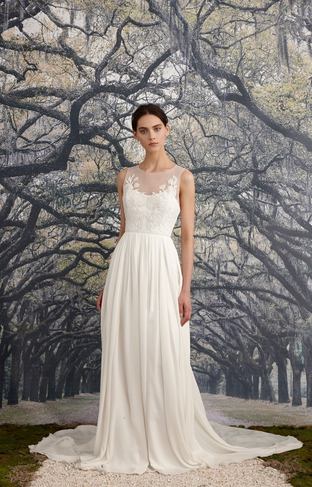 This A Line Beauty Will Fit Into The Day And On Body Of So Many Beautiful Brides Its Quite Versatile Design