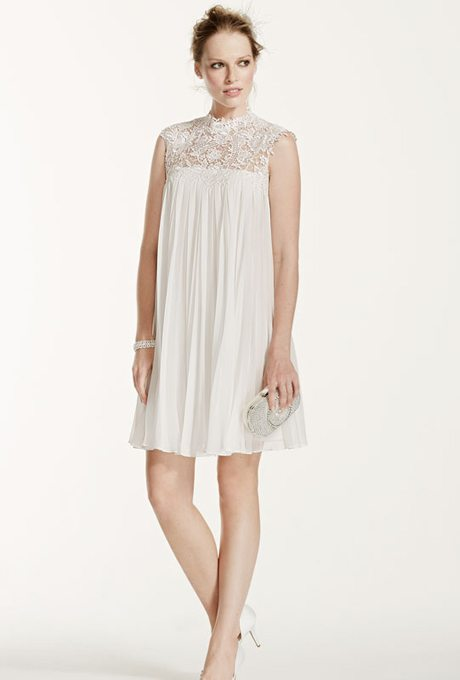 Short Retro Wedding Dresses For Your Vow Renewal