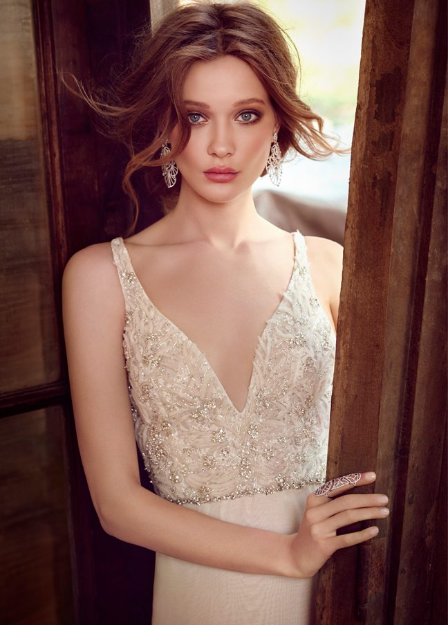 lazaro-bridal-chiffon-a-line-v-neckline-beaded-embroidered-bodice-crystal-trim-natural-chapel-train-3554_zm