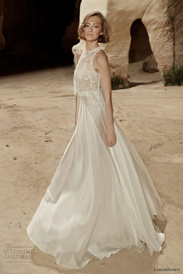 Limor Rosen Bridal 2014 Sleeveless Wedding Dress Sara