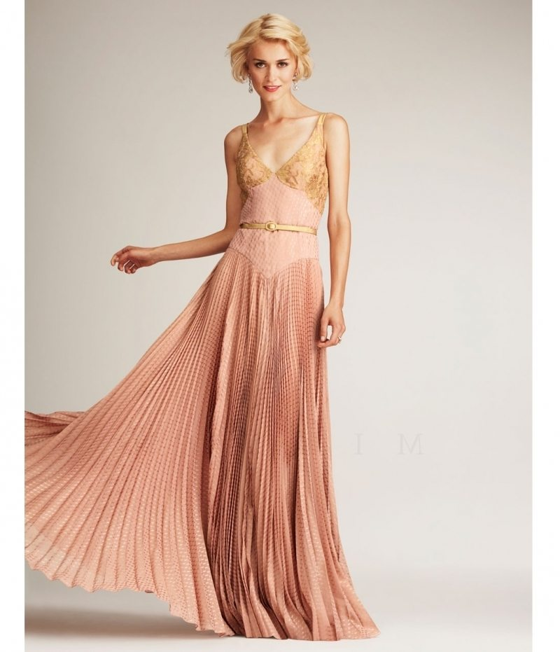 10 Rose Gold Gowns To Renew Your Vows In - BridalPulse